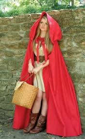 Hooded Halloween Costumes Diy Costume Red Riding Hood Halloween Thanksgiving Fall