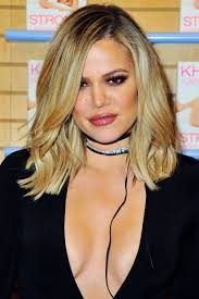 khloé kardashian debuts short lob khloe kardashian got a bob so it looks like her short hair is