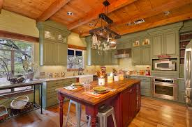 green kitchen canisters kitchen traditional with red island