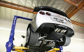 corvette grand sport accessories corvette rear diffuser carbon fiber with led when equipped