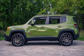 2016 jeep renegade review 2016 jeep renegade 75th anniversary edition canadian