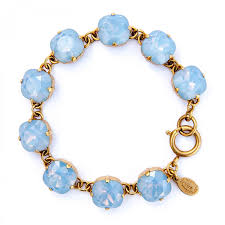 air bracelet bracelet air blue and gold catherine popesco