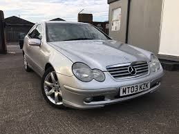 2003 mercedes c220 cdi coupe diesel automatic manual