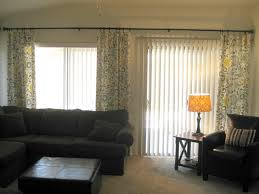 Curtains On Sliding Glass Doors Somewhat Monolithic But The Pattern And Use Of Textures Helps