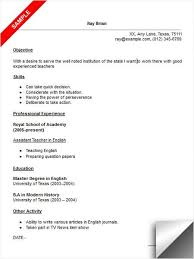 English Teacher Sample Resume by 157 Best Resume Examples Images On Pinterest Resume Examples