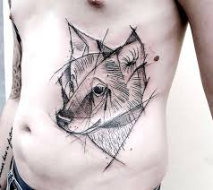 wolf tattoo sketch pictures to pin on pinterest tattooskid