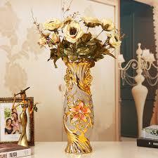 vasi decorativi ceramica vaso di sollievo vaso d oro decorazione della casa