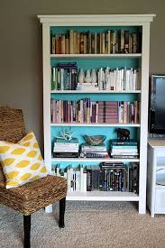 Colored Bookshelves by Best 25 Painted Bookshelves Ideas Only On Pinterest Girls