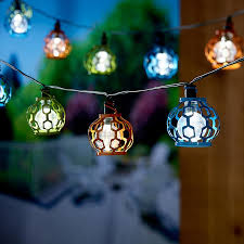 solar powered string lights touch of eco lightup200 outdoor solar powered string lights 200
