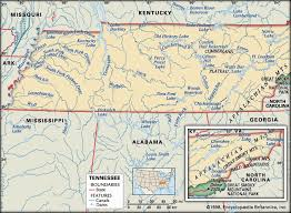 louisiana geographical map tennessee history geography britannica