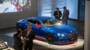 bentley phantom 2016 2017 bentley continental gt speed unveiled in nyc drivers magazine