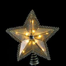 lighted capiz star tree topper commercial grade christmas lights lighted tree toppers