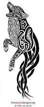 25 ide terbaik wolf tattoo design di pinterest tato srigala