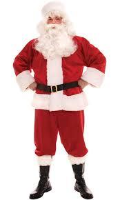 santa claus mens traditional santa claus costume size 40 44