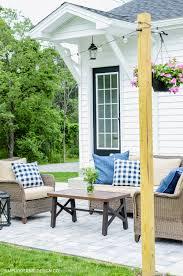 backyard patio makeover simply kierste design co