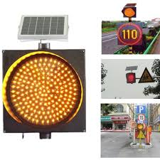 solar powered flashing yellow light red blue yellow led flashing solar powered traffic warning light in