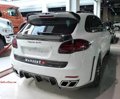 mansory porsche super car china super spot mansory porsche cayenne turbo