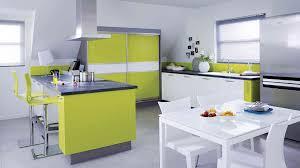 cuisine coloré beautiful cuisine de couleur vert et oronge ideas matkin info