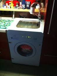 washing machine with sink you have a sink you have a washing machine too chase it or b chased