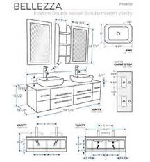 Double Vanity Size Standard What Are The Dimensions For A Bathroom Vanity Tsc
