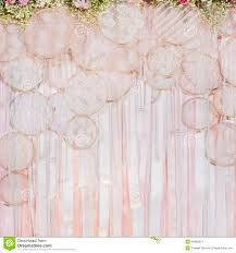 wedding backdrop background beautiful flowers background for wedding stock photo image