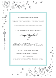 simple wedding invitation wording from and groom lake side