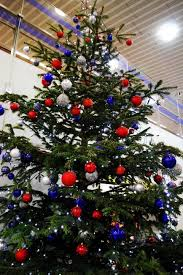 Decorated Christmas Tree Blue by Blue Christmas Tree Decorating Ideas Adding Cool Elegance To