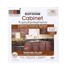 Rustoleum Kitchen Cabinet Kit Reviews by Rust Oleum Transformations Dark Color Cabinet Kit 9 Piece 258240