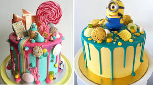 amazing birthday cakes amazing birthday cake decorating tutorial compilation cake style