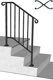 porch railing kit amazon com