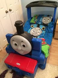 Little Tikes Toy Storage Little Tikes Thomas The Tank Engine Bed With Small Storage Box