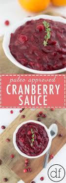 paleo approved cranberry sauce define fettle