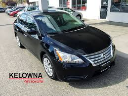 nissan sentra used 2014 nissan sentra s 4 door car in kelowna prj9439a