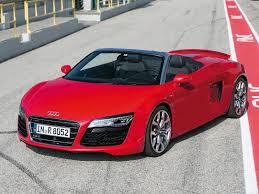 Audi R8 Red - audi r8 v10 spyder 2013 picture 4 of 39