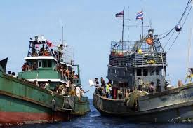 denial of rights in myanmar bangladesh cause of boat refugee