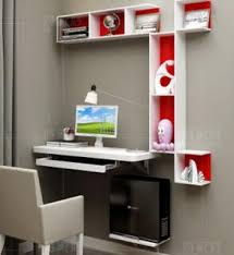 famille bureau famille modèle chambre coin ordinateur de bureau une