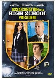 high school high dvd assassination of a high school president released on dvd today