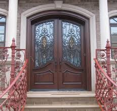 home entry ideas inspiring double fiberglass entry ideas steel grill design for