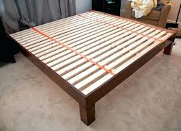 bed frame platform bed frame king diy bed frames ikea as queen