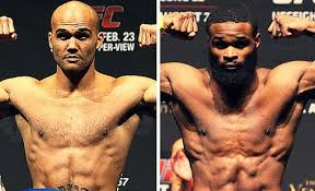 lawler and woodley to headline ufc 201 fight break