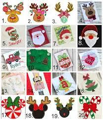 christmas applique christmas applique collage kennedi s closet