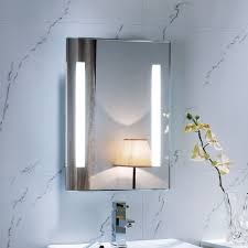backlit bathroom mirror futuristic u2014 home ideas collection