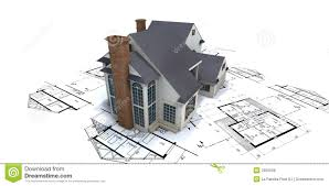 house on architect plans royalty free stock photo image 2413105
