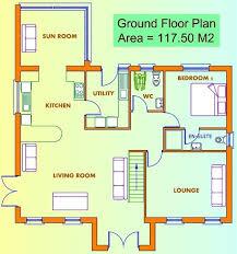 ground floor first floor home plan new ground floor first floor home plan new home plans design