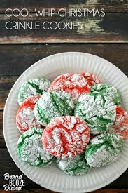 Halloween Cake Mix Cookies by Christmas Crinkle Cool Whip Cookies Bread Booze Bacon