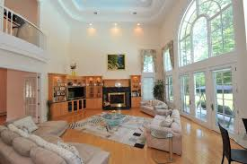 Interior Design High Ceiling Living Room Marvellous Design Modern House Plans With High Ceilings 4 Small