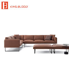 Corner Sectional Sofas Italy Natuzzi Living Room Nappa Leather Corner Sectional