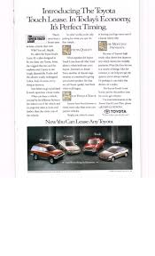 toyota lease 39 best vintage toyota vehicle ads images on pinterest national