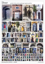 architecture series doors poster andy marshall architectural