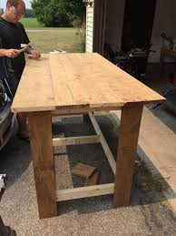 kitchen island diy diy kitchen island hometalk
